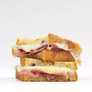 Grilled Cheese & Prosciutto Recipe