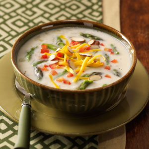 Creamy Asparagus Chowder Recipe