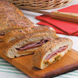 Meat 'n' Cheese Stromboli Recipe