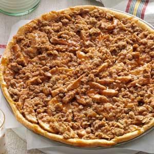 Apple Crisp Pizza Recipe