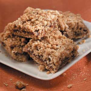 Oatmeal Date Bars Recipe