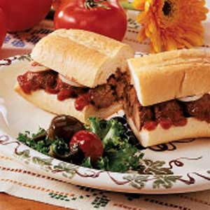 Meatball Lover's Sandwich Recipe