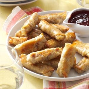 Crispy Baked Wontons Recipe