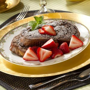 Chocolate Challah French Toast Recipe