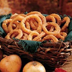 Fried Onion Rings Recipe