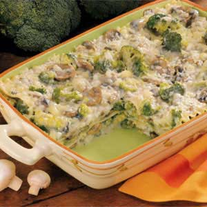 Creamy Broccoli Lasagna Recipe