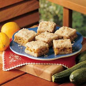 Zucchini Dessert Squares Recipe