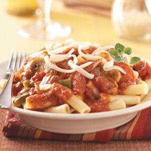 Pepperoni 'n' Tomato Pasta Recipe
