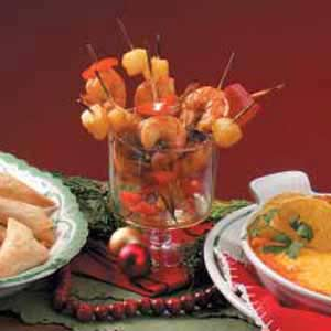 Seaside Prawn Kabobs Recipe