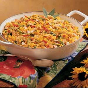 Creole Skillet Dinner Recipe