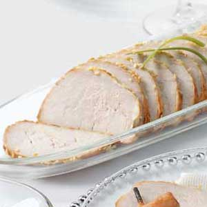 Baked Sesame Pork Tenderloin Recipe