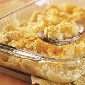 Makeover Cheddar Tot Casserole Recipe