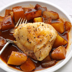 Honey Hoisin Chicken & Potatoes Recipe