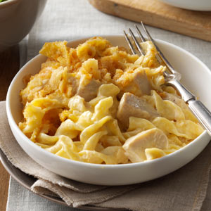 Chicken & Egg Noodle Casserole Recipe
