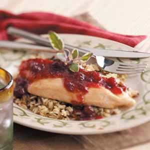 Cranberry Chicken and Wild Rice Recipe