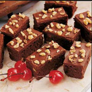 Black Forest Brownies Recipe