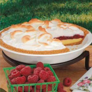 Raspberry Meringue Pie Recipe