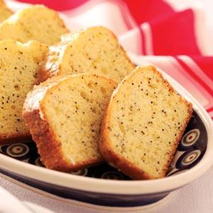 Homemade Lemon Pound Cake Recipe