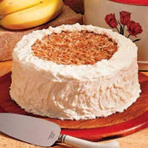 Banana Coconut Cake Recipe