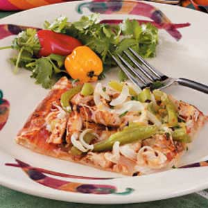 Southwestern Chicken Pizza Recipe
