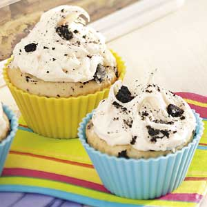 Chocolate Cookie Cupcakes Recipe