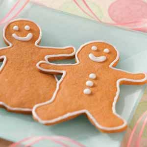 Butterscotch Gingerbread Men Recipe