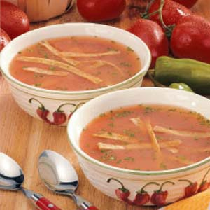 Southwestern Tomato Soup Recipe