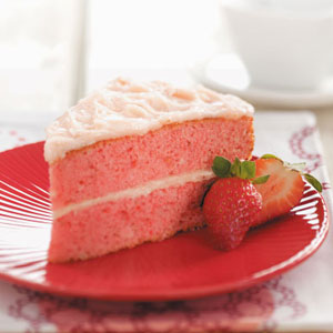 Makeover Strawberry Cake Recipe
