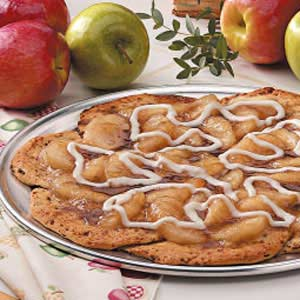 Cinnamon Apple Pizza Recipe