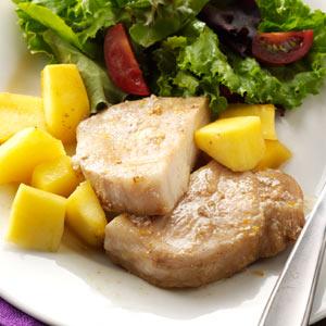 Pork Chops & Acorn Squash Recipe