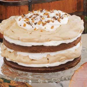 Chocolate Meringue Torte Recipe