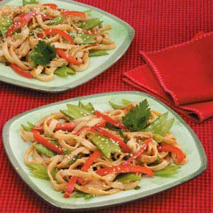 Spicy Asian Noodles Recipe