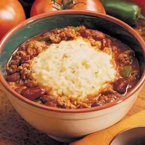 Chili with Potato Dumplings Recipe