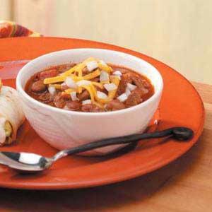 Zippy Steak Chili Recipe