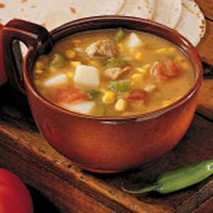 Green Chili Pork Stew Recipe