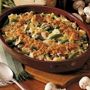 Tuna Mushroom Casserole Recipe