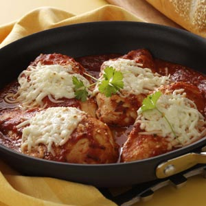 Skillet Chicken Parmesan Recipe