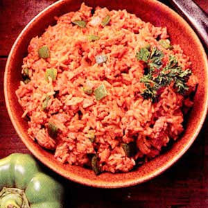 Meaty Spanish Rice Recipe