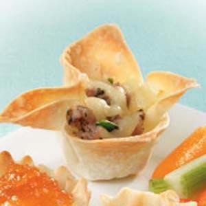 Wonton Wrapper Appetizers Recipe