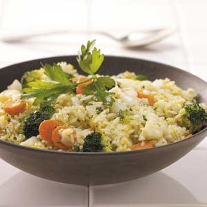Vegetable Rice Skillet Recipe