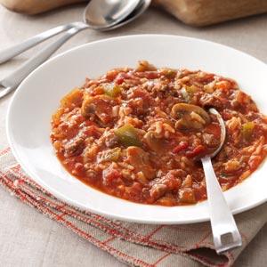 Unstuffed Pepper Soup Recipe