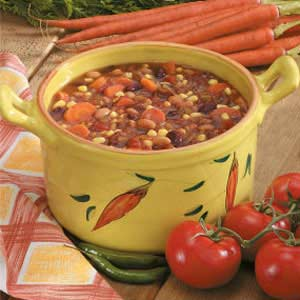 Zippy Bean Stew Recipe