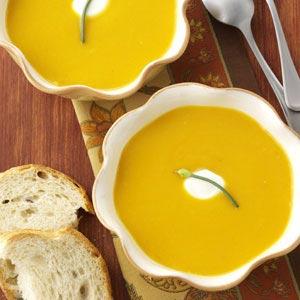 Chipotle Butternut Squash Soup Recipe