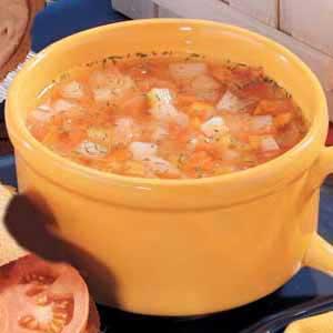 Freezer Vegetable Soup Recipe