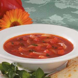 Onion Tomato Soup Recipe