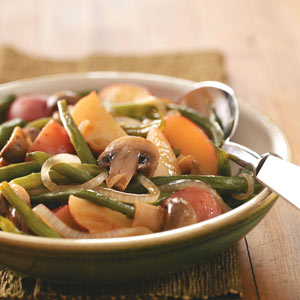 Green Beans and New Potatoes Recipe