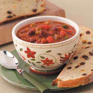 Spicy Hearty Chili Recipe