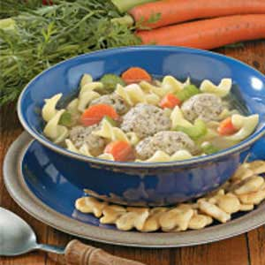 Turkey Meatball Soup Recipe