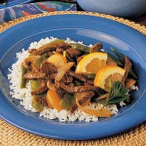 Mandarin Beef Stir-Fry Recipe