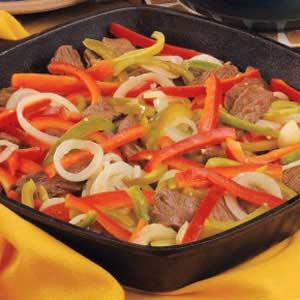 Fabulous Beef Fajitas Recipe